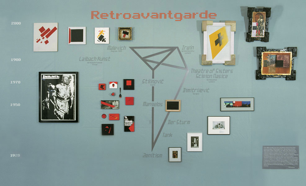 Irwin Retroavantgarde for Whitechapel 2001